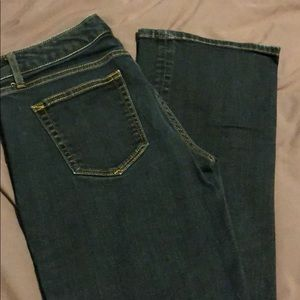 GAP 1969 Sexy Boot Jeans, size 27 L